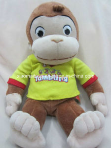 Sitting Stuffing Monkey Original Toy