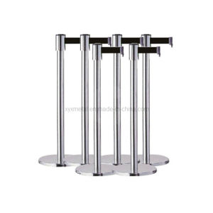 Stainless Steel Crowd Control Retractable Belt Barrier pictures & photos