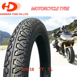 Motorcycle Spare Parts, Non-Slip, Motorcycle Tyre Motor Tricycle Tire3.00-18 pictures & photos