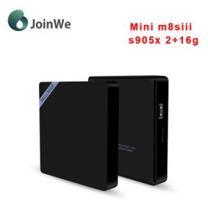 Mini M8s III Android TV Box Android 6.0 Amlogic S905X 2+16g Set Top Box pictures & photos