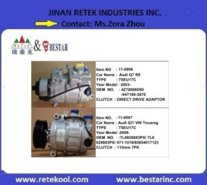 Sandan/Danso/Diesel-Kiki /York Auto AC Compressor with Good Quality pictures & photos