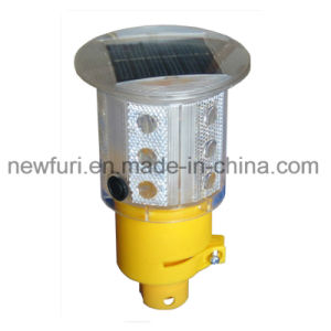 360 Degreed Solar Traffic Cone Light for Road Construction Site pictures & photos