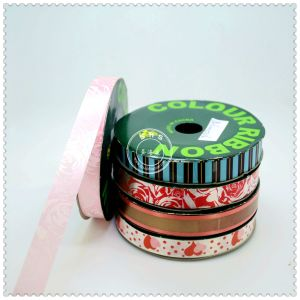Colored Gift Wrapping Red Ribbon Spool pictures & photos