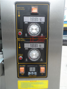 3 Layers and 9 Trays Gas Stainless Steel Door Deck Oven (ZBB-309M) pictures & photos