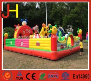Happy Pleasant Goat Inflatable Fun City Slide Castle for Amusement Park pictures & photos