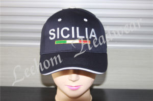 Snapback Black Custom Logo 3D Cap with Embroidery pictures & photos