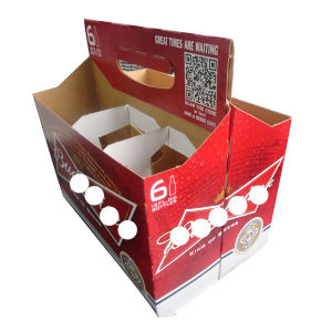 Cheap Price Custom Printed 6 Packed Beer Box pictures & photos