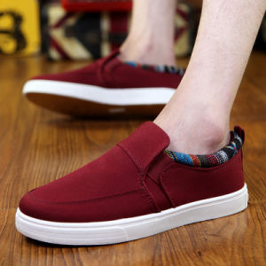 Spring & Summer & Autumn Wear New Canvas Shoes Leisure Shoes Breathable Shoes Korean Lazy Pedal Shoes pictures & photos