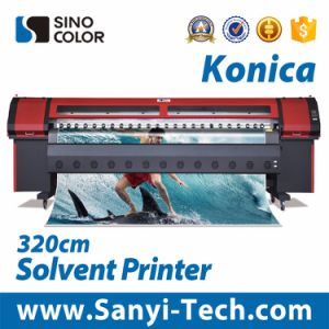 3.2m Outdoor Printing Solvent Printer with Km-512ilnb-30pl  Heads pictures & photos