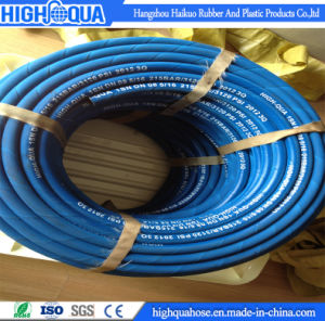 Blue Color SAE100 R1at/En 853 1sn Hydraulic Hose pictures & photos