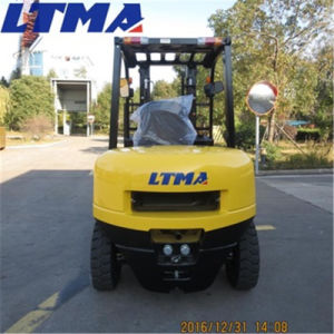 China Manual Forklift 4 Ton Diesel Forklift Price pictures & photos