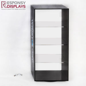 Pop Counter Top 4 Tier Locked Acrylic Display Case with Watch and Jewellery pictures & photos