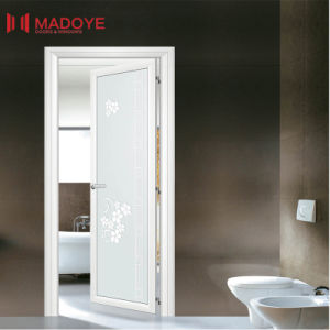 Metal Door with Insulating Glass for Toilet pictures & photos