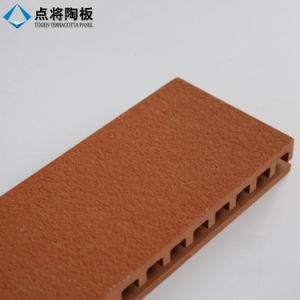Ventilated Facade Rainscreen Terracotta Cladding Systems with Fixation Accessorie pictures & photos