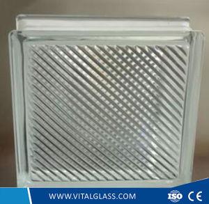 Architectual Oblique Line Glass Block pictures & photos