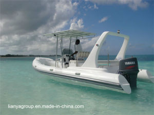 Liya 11-27feet Rigid Hull Inflatable Boat Manufacturers Ce Rib Boat pictures & photos