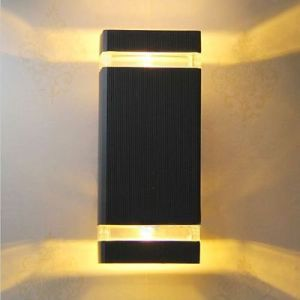 12W Outdoor Decorative LED up Down Wall Light IP65 pictures & photos
