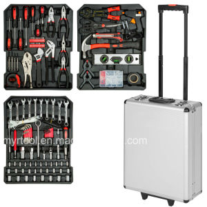 377PCS- 3tool Layers Trolley Tool Box Set (FY377A) pictures & photos