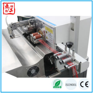 Automatic Double Ends Cable Stripping& Twisting& Tinning Machine pictures & photos