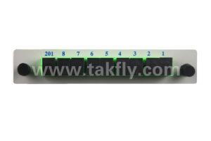 Gpon Telecommunication 1X8 Lgx Fiber Optic PLC Splitter for FTTH/CATV pictures & photos