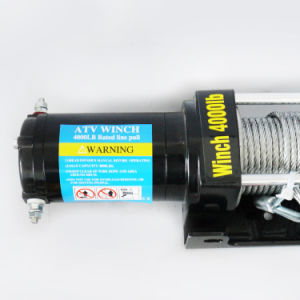 4WD Electric UTV Winch with Wireless Remote Control (4000lb-2/1814kg) pictures & photos