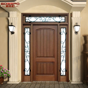 Exterior Front Entry Wood Sierra Glass Door with Lites (GSP1-036) pictures & photos