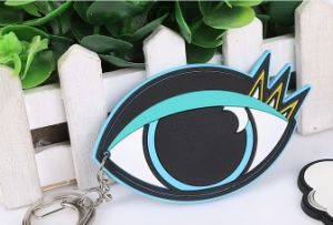 Latest Product PVC Rubber Leaf Shaped Keychain pictures & photos