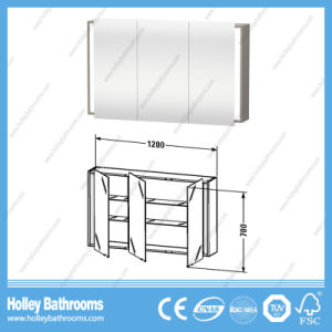 Top Grade Modern Bathroom Units with Mobile Cabinet and Mirror Vanity (BF388D) pictures & photos