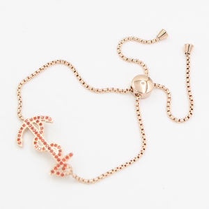 Boat Anchor Charm with CNC Stones fashion Bracelet Jewelry pictures & photos