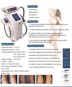 Cryolipolysis Vacuum Anti Cellulite Body Contouring Cryolipo Fat Freezing Vacuum Liposuction Home Device pictures & photos