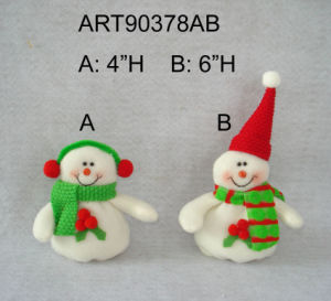 "6""H Snowman Ornament Christmas Tree Decoration-2asst pictures & photos"