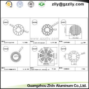 Coating Aluminum Profile Heatsink/Aluminum Building Material pictures & photos