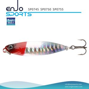 Sp0755 Series Holographic Spoon Shape Jigging Lure with Vmc Treble Hook pictures & photos
