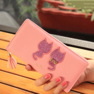 Japanese Hot Sale New Designer Long Women Wallet pictures & photos