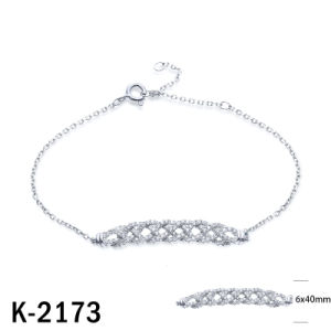 New Designs European Styles Light Weight CZ Bracelets pictures & photos