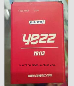 Cellphone 3.7V Li-ion Battery for Yezz Yb113 1400mAh pictures & photos