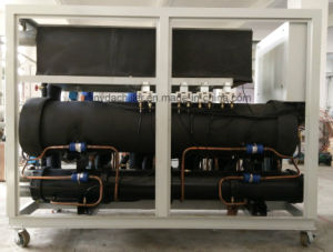 30ton Water Cooled Scroll Type Cooling Water Chiller pictures & photos