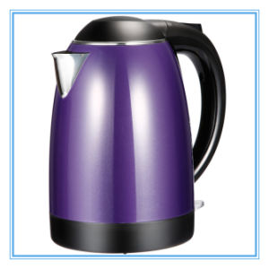 1.7L Double Layer Boiling Water Stainless Steel Electric Kettle pictures & photos