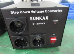 10kVA Step up and Down Voltage Transformer with LED Warning Light pictures & photos