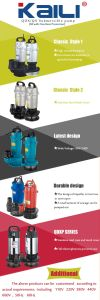 Latest design of QDX Submersible pump with Wide Voltage (150V-240V) pictures & photos