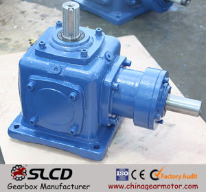 1: 1 Ratio Right Angle Shaft Mounted Helical Bevel Speed Reducers pictures & photos