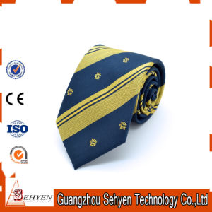 Silk/Polyester Printed Chinese Fashion Custom Floral Necktie pictures & photos