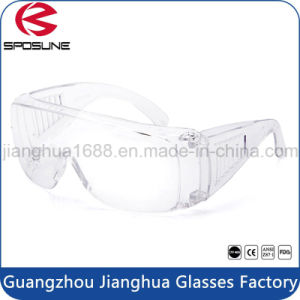 High Quality Discount Shatterproof Safety Gogle New Design Goggle En166 Woodcutting Welding Industrial Safety Eyewear pictures & photos