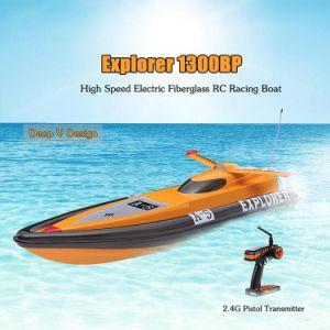 225bl006ap-Original Explorer 1300bp Fs-Gt2 2.4G Transmitter High Speed 60km-H Electric RC Racing Boat pictures & photos