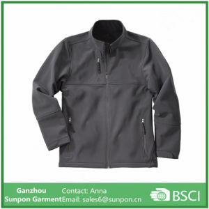 Grey Color Breathable Softshell Jacket pictures & photos