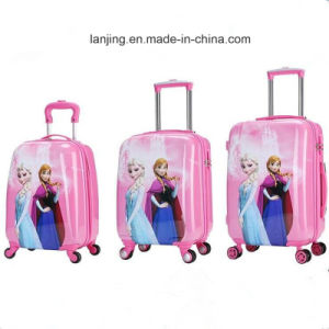 Bw1-035 360d Wheel Luggage Trolley Backpack Troley Luggage Bags pictures & photos