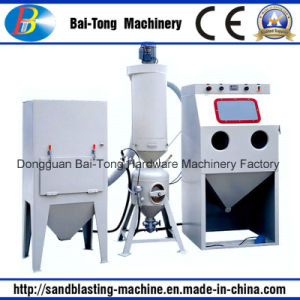 Manual Pressure Sandblasting Machine Cabinet for Cast Products pictures & photos