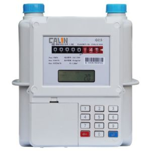 Aluminum Material Smart Sts Keypad Meter, Prepay Gas Meter Low Credit Warning pictures & photos