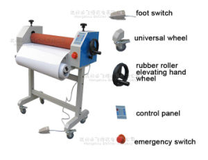 BFT-650E 25inch Electric Cold Laminator / high quality low price machine pictures & photos