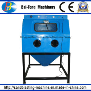 Manual Wet Sandblast Cabinet for Jewelry pictures & photos